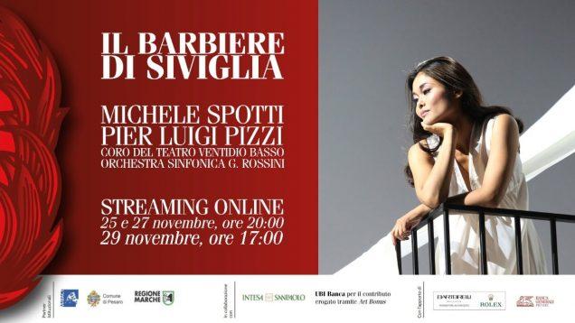 Il barbiere di Siviglia Pesaro 2020 Nov 27 Gatell Lepore Wakizono Samoilov