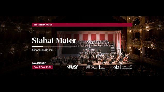 <span>FULL </span>Stabat Mater (Rossini) Buenos Aires 2018
