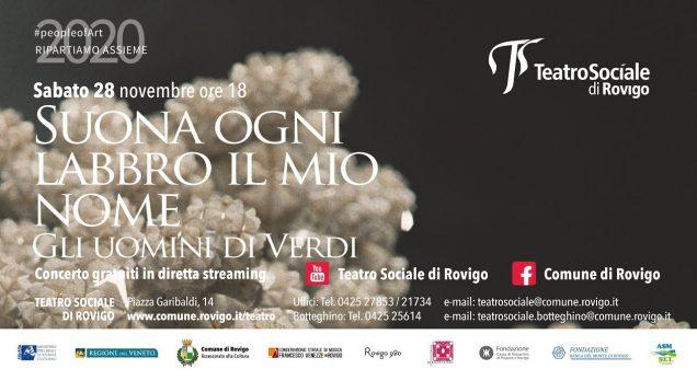 <span>FULL </span>SUONA IL MIO LABBRO OGNI NOME – Gli uomini di Verdi Rovigo 2020