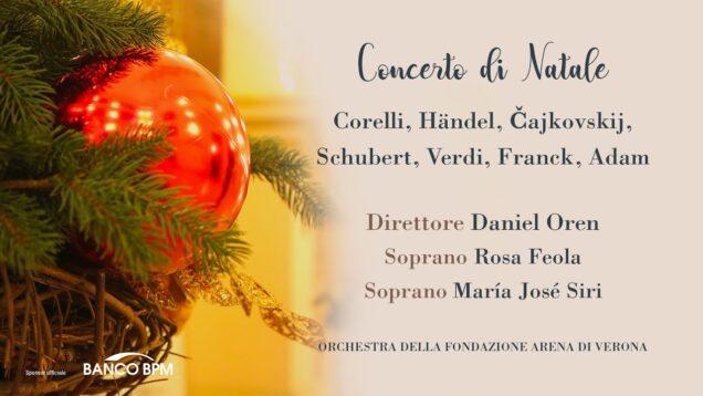 <span>FULL </span>Concerto di Natale Verona 2020 Feola Siri