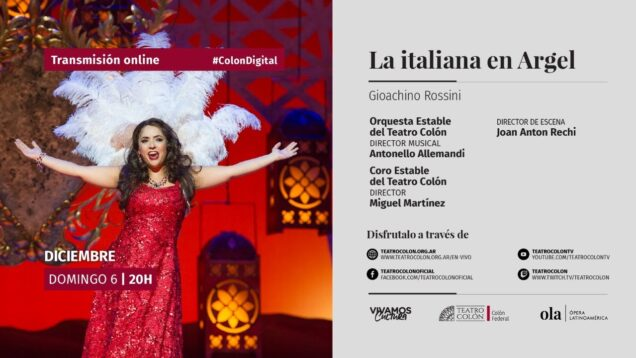 <span>FULL </span>L'italiana in Algeri Buenos Aires 2020