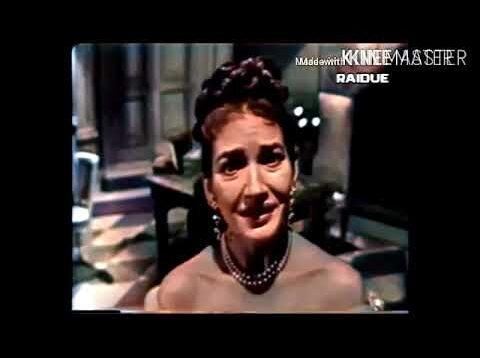 Maria Callas in Tosca New York 1956 George London