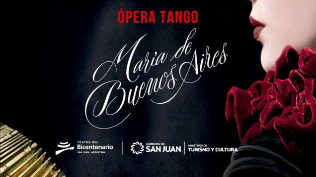 <span>FULL </span>Maria de Buenos Aires (Piazzolla) San Juan 2020