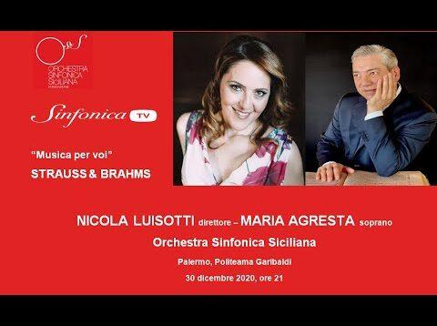 <span>FULL </span>Vier letzte Lieder Palermo 2020 Maria Agresta