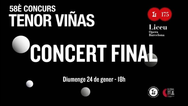 <span>FULL </span>58È Concurs Tenor Viñas: Concert Final Barcelona 2021