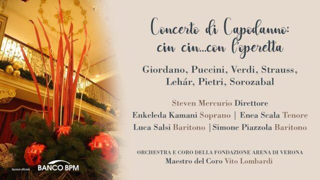 <span>FULL </span>Concerto di Capodanno: cin cin…con l'operetta Verona 2020