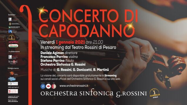 <span>FULL </span>Concerto di Capodanno Pesaro 2021