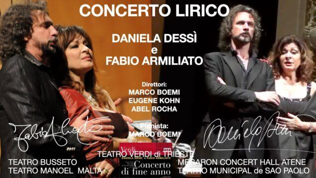 <span>FULL </span>Daniela Dessi and Fabio Armiliato in Concert 2007-2014