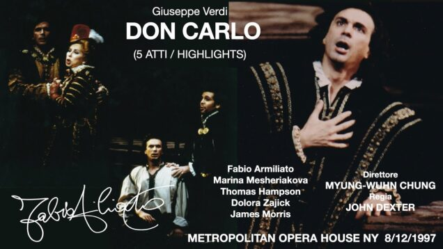 Don Carlo Met 1997 Armiliato Mesheriakova Hampson Zajick
