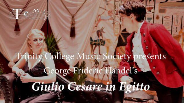 <span>FULL </span>Giulio Cesare Cambridge 2019 Trinity College