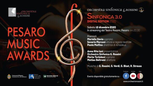 <span>FULL </span>Pesaro Music Awards Pesaro 2020 Mariella Devia Marta Torbidoni