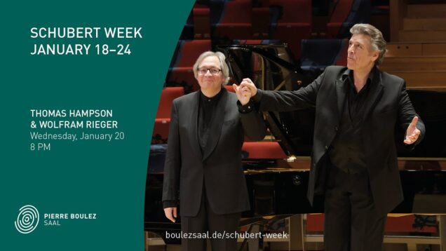 <span>FULL </span>Schubert Week Berlin 2021 Thomas Hampson