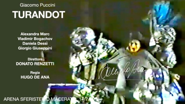 Turandot Macerata 1996 Marc Bogachov Dessi