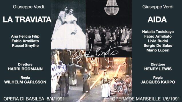 Aida Marseille 1991 Armiliato Tochiskaya Budai