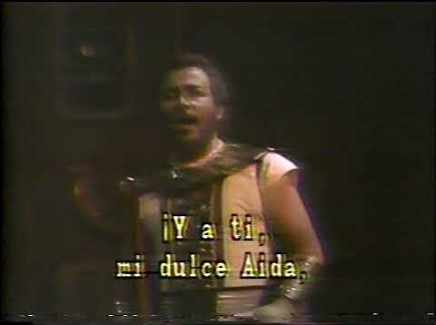 Aida Mexico City 1983 Verdejo Navarrete Félix