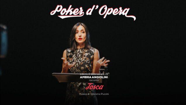 <span>FULL </span>Ambra Angiolini racconta Tosca – Poker d'Opera Livorno 2021