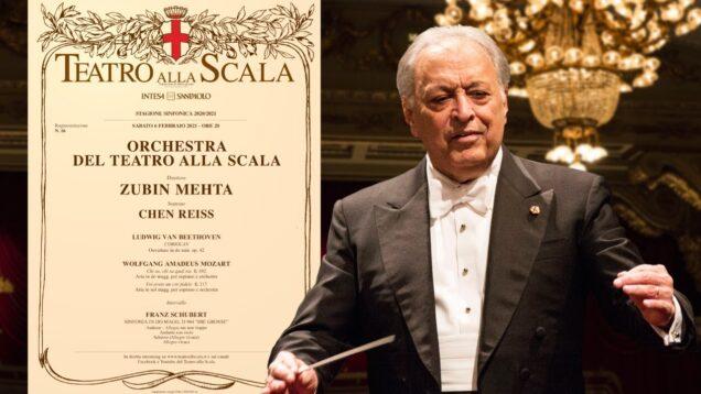 <span>FULL </span>Concerto Zubin Mehta Milan 2021 Chen Reiss