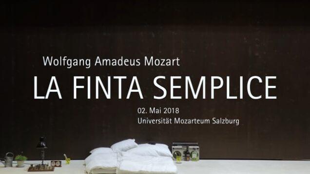 <span>FULL </span>La finta semplice Salzburg 2018 Mozarteum