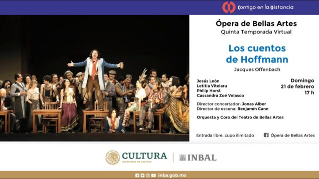 <span>FULL </span>Les Contes d'Hoffmann Mexico City 2019 León Vitelaru Horst