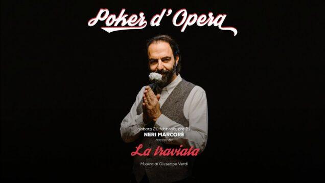 Neri Marcorè racconta La traviata – Poker d'Opera Livorno 2021