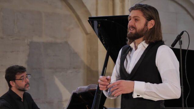 <span>FULL </span>Schubert Recital Nuremberg 2021 Konstantin Krimmel