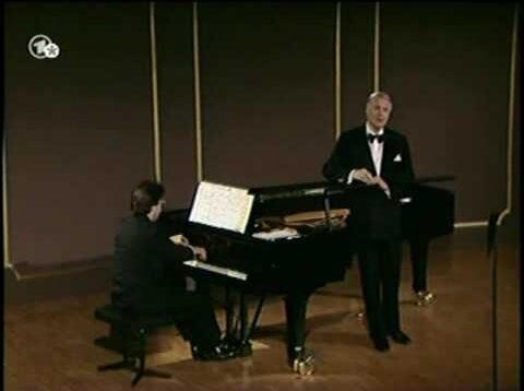 <span>FULL </span>Schumann Lieder Recital Baden-Baden 1988 Dietrich Fischer-Dieskau