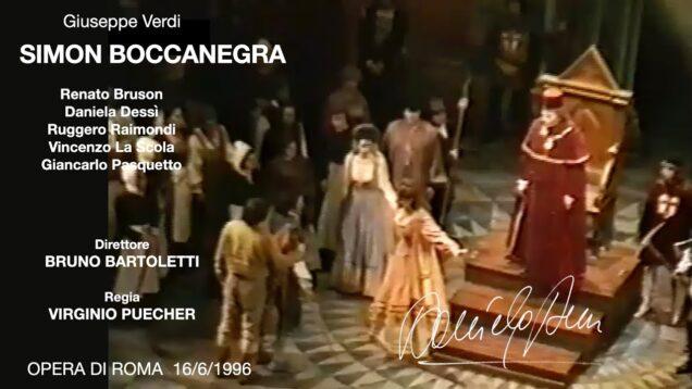 <span>FULL </span>Simon Boccanegra Rome 1966 Bruson Dessi Raimondi La Scola