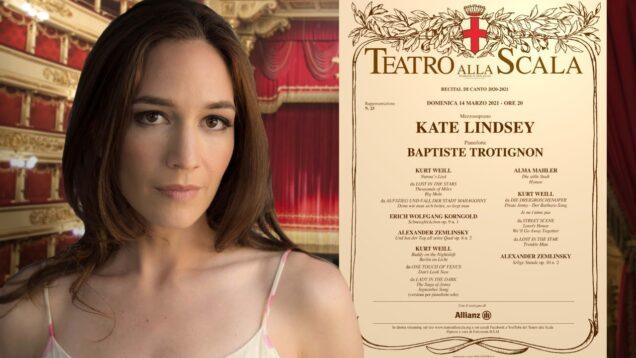 A Thousand Miles Recital Kate Lindsey Milan 2021