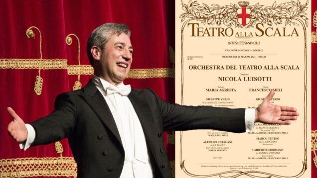 Concerto M° Luisotti Milan 2021Meli Agresta