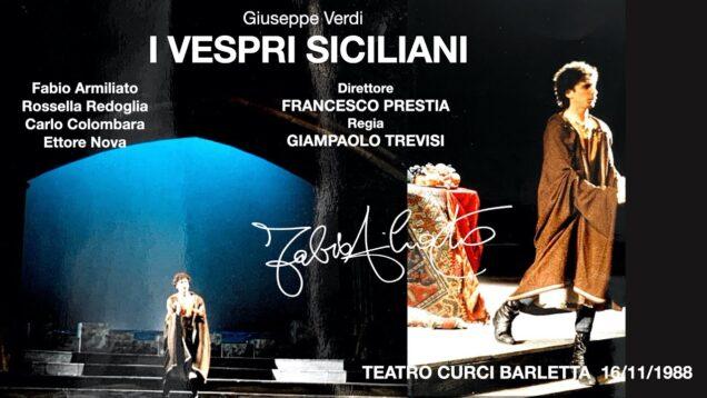 <span>FULL </span>I Vespri Siciliani Barletta 1988 Armiliato Redoglia Colombara