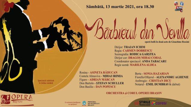 <span>FULL </span>Il barbiere di Siviglia Brasov 2021 Răducan Irimia Mărcan