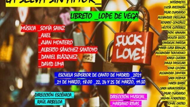 <span>FULL </span>La selva sin amor (Piccinini) Madrid 2021