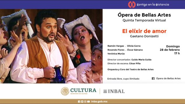 <span>FULL </span>L'elisir d'amore Mexico City 2004 Vargas Gorra Flores