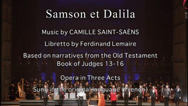 <span>FULL </span>Samson et Dalila Tokyo 2021