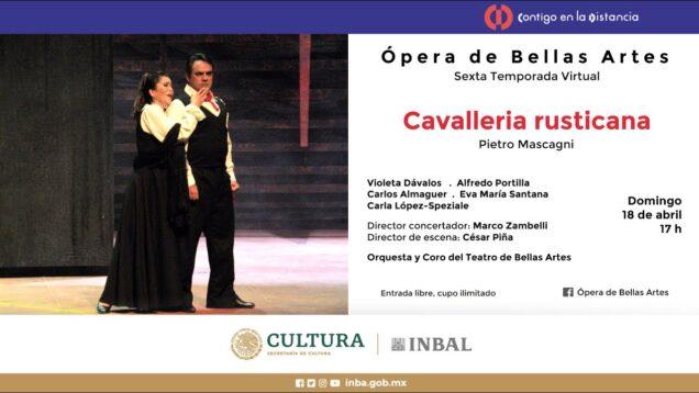 <span>FULL </span>Cavalleria rusticana Mexico City 2009 Dávalos Portilla Almaguer