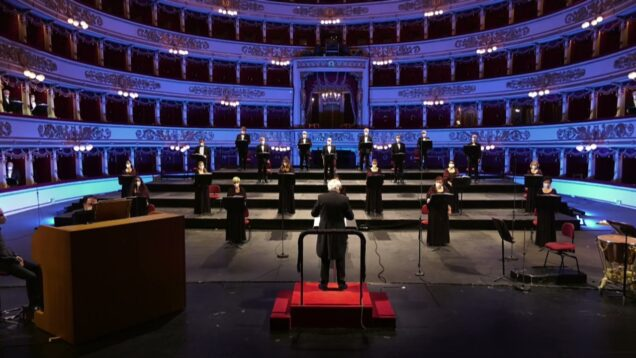 Concerto del Coro del Teatro alla Scala Milan 2021