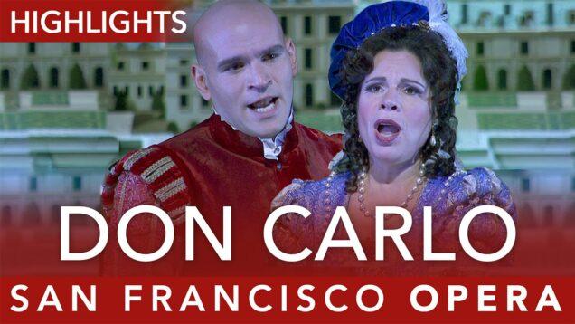 Don Carlos San Francisco 2016 Fabiano Pape Krasteva Kwiecień Martínez