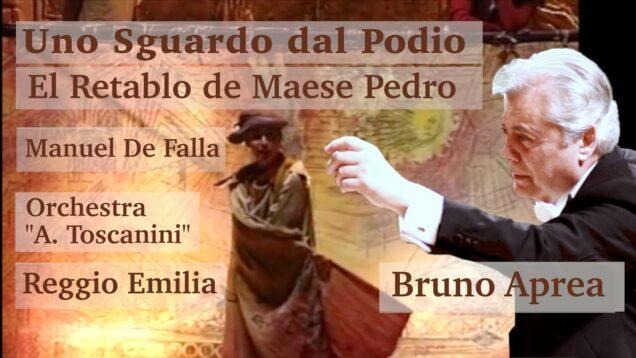 <span>FULL </span>El retablo de maese Pedro (de Falla) Reggio Emilia 1995