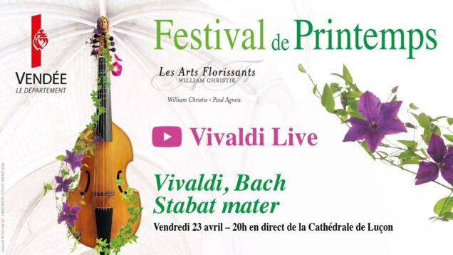<span>FULL </span>Festival de Printemps Bach, Vivaldi Lucon 2021 Les Arts Florissants Lucile Richardot