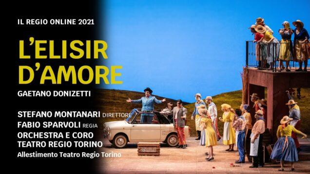 L'elisir d'amore Turin 2021 Sicilia Volkov Romano Caoduro