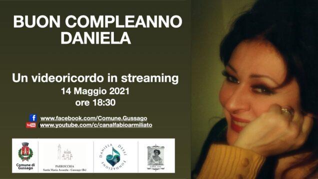 <span>FULL </span>Buon compleanno, Daniela Gussago 2021 Daniela Dessi Fabio Armiliato