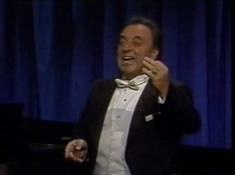 <span>FULL </span>Carlo Bergonzi Celebrates Beniamino Gigli New York 1985