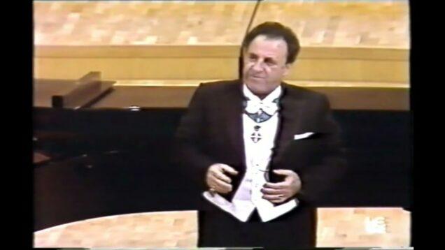 <span>FULL </span>Carlo Bergonzi Recital Madrid 1989