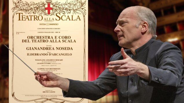 Concerto Gianandrea Noseda Milan 2021 Ildebrando D'Arcangelo