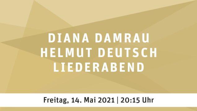 Diana Damrau & Helmut Deutsch Liederabend Essen 2021