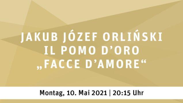 Facce d'amore Essen 2021 Jakub Józef Orliński