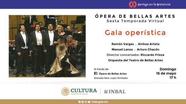 <span>FULL </span>Gala operística Ramón Vargas XXV aniversario Mexico City 2007 Arteta Lanza Chacón