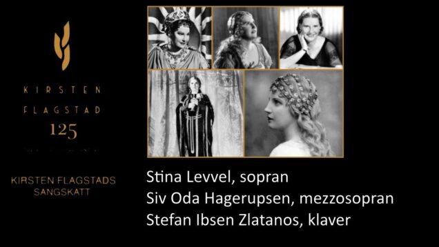 <span>FULL </span>Kirsten Flagstads sangskatt  Hamar 2020 Stina Levvel Siv Oda Hagerupsen