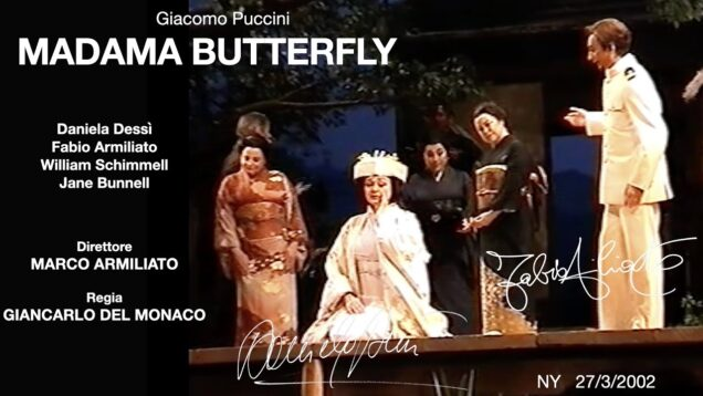 Madama Butterfly Met 2002 Dessi Armiliato Shimmell