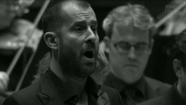 <span>FULL </span>Matthäus Passion (Bach) Budapest 2020 Jacobs Prégardien Hammarström